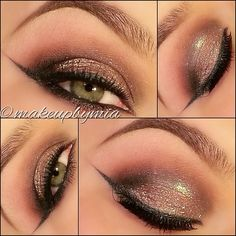Shimmer eyeshadow @ makeupbymia