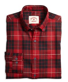 Proudly woven in the USA, this @PendletonWM shirt is a great warm, wool option when the temperature drops. #RedFleece pick by @KJPBrand