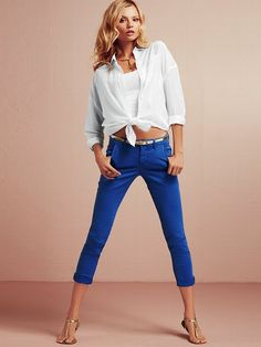 NEW! Twill Crop Pant #VictoriasSecret http://www.victoriassecret.com/clothing/casual-chic-looks/twill-crop-pant?ProductID=95038=OLS?cm_mmc=pinterest-_-product-_-x-_-x