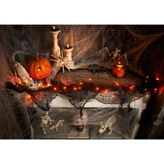 Halloween Light Up Gauze Garland. Turn your home into a horrifying haunted house with this Light Up Gauze Garland. Features 30 ultra-bright LED lights entwined in the spooky garland, making it ideal for halloween decor and kids parties. Available colours: Purple Orange 30 LED lights. #halloween #party #drink #scary #spooky #ideas #bmstores #bandm #bandmbargains #partyideas #halloweenparty #fun #lights #LED