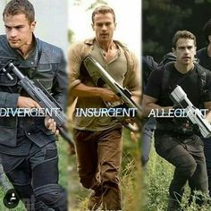 Dayamn that guy has guns! *excuse the pun* Divergent Memes, Divergent Fandom, Divergent Trilogy, Theo James, Film Books, Book Authors, Tris And Four, Divergent Insurgent Allegiant, Book Memes