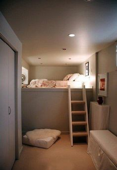 another bed nook! This one is for short people.