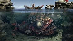 """Search Results for """"scary fish wallpaper"""" – Adorable Wallpapers Underwater Wallpaper, Scary Wallpaper, Artistic Wallpaper, Fish Wallpaper, Halloween Wallpaper Iphone, Halloween Backgrounds, Spooky Pictures, Scary Images, Pictures Images"""