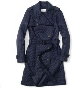 Monaco Blue Coat for women!
