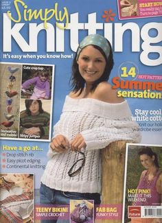 Ravelry: Simply Knitting 5, August 2005