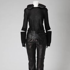 The KCI Digital Archives on the KCI website presents image and text information for 200 objects in the collection, arranged in chronological order. Digital Archives, Body Piercings, Body Modifications, Fasteners, Helmut Lang, 2000s, Minimalist Fashion, Catwalk, Travelling