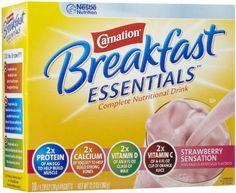Carnation Instant Breakfast Powder, Strawberry, 10 pk - http://sleepychef.com/carnation-instant-breakfast-powder-strawberry-10-pk/
