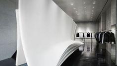 Zaha Hadid per Neil Barrett in un nuovo flagship store