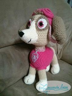 L'accroche laine - Tutoriel au crochet et plusieurs patrons gratuits: Stella (Pat'Patrouille)