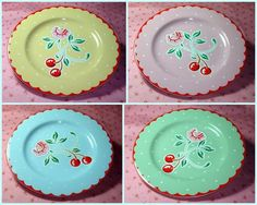 Cute cherry collection from #MaryEngelbreit #CherryDishes