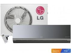 0df21d621 Ar-Condicionado Split LG Inverter 22000 BTUs - Quente Frio Libero Art Cool -