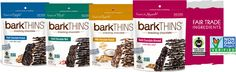 Bark Thins - I love their ingredients. I just want to copy them - quinoa, mint, coconut, pumpkin seeds, etc.