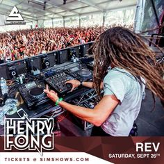 This Saturday at Rev Ultra Lounge in Minneapolis. Imagine crazy beats in an intimate setting!