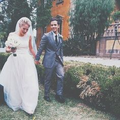 Nathan Kress and London Elise Moore get married