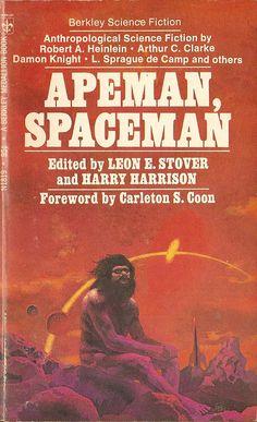Apeman, Spaceman,  book cover