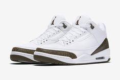 Nike Air Jordan 3 Retro (New 'Mocha' sz Air Jordan 3, Nike Air Jordan Retro, Jordan Nike, Air Jordan Shoes, Mocha, Best Shoe Rack, Video Sport, Best Sneakers, Retro Sneakers