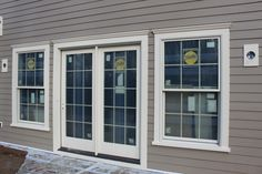 moulding for homes | The exterior surfaces of the home are being ap plied. The house has ...
