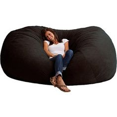 I really really really want a bean bag chair this big! XXL 7' Fuf Comfort Suede Bean Bag, Multiple Colors $175