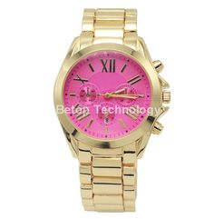 Novedades de Productos :Reloj Dorado con esfera Rosa, modelo Michael kors ⬇ http://www.misstendencias.com/29-relojes #complementos #relojes #relojdorado #relojesferarosa #relojdemoda #tendencias #moda #blogger #cool #outfit #style #chic #barato #look #like #love #miercoles #friends #selfie #ideal #detale #regalos #dateuncapricho