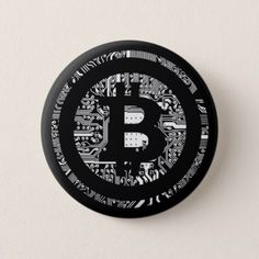 Shop Bitcoin Logo Symbol Cryptocurrency Crypto Button created by BlockchainGear. Personalize it with photos & text or purchase as is! Investing In Cryptocurrency, Cryptocurrency Trading, Bitcoin Cryptocurrency, Blockchain, Make Money Online, How To Make Money, Clorox Bleach, Bitcoin Logo, Bitcoin Price