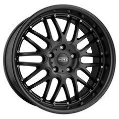 15 inch Dotz Mugello 5x100 BLACK 5 stud Toyota VW Audi alloy wheels