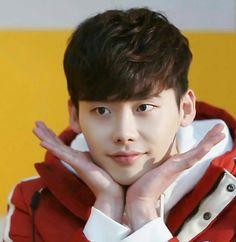 Lee Jong Suk's aegyo
