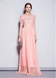 d2a98d6b42e Fascinating Lace   Tulle Jewel Neckline A-line Evening Dresses Prom Dresses  2019. Custom Made ...
