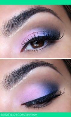 Blushing Blues | Maryam M.'s (Maryam) Photo | Beautylish