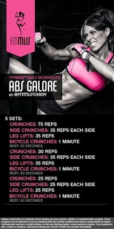 ABS:   Fitmiss abs starts now ! http://jackiesalsareup.com/kickboxing