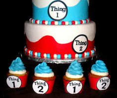 thing 1 and thing 2 baby shower - Google Search