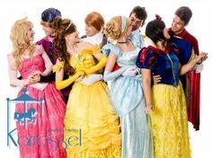 Princesas e príncipes - Princess and Prince