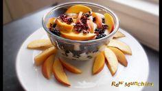 Raw Vegan Creamy Breakfast   Rawmunchies.org  #RECIPE HERE: http://www.rawmunchies.org/recipes #Raw #vegan #rawvegan #glutenfree #rawvegandessert #fruit #youtubevideo #youtuberecipe