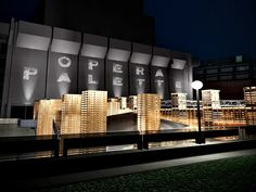 Next year an incredible temporary opera house made entirely from shipping pallets will grace the courtyard at the Music Academy of Quebec City. Designed by Theater Architect Jacques Plante and Engineer Pascale Pierre, L'Opera Palette will be feat of engineering, a study of acoustics, and an exploration of material reuse -- not to mention a a stunning art installation.