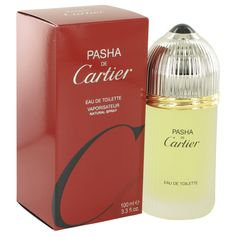 Cartier Pasha De Cartier 3.3 oz Eau De Toilette Spray - This scent has been a favorite of style-conscious men since Cartier introduced it in 1992, Pasha De Sartier is classified as a sharp, spicy, lavender, amber fragrance . This masculine scent possesses a blend of mint, citrus, wood, musk and amber. The Cartier name ensures quality, #Pasha De Cartier is a casual fragrance that's perfect for any occasion.