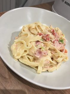 Syn Free Tagliatelle Carbonara Pasta | Slimming World Recipe | FatGirlSkinny.net - Slimming World Weight Loss Blog