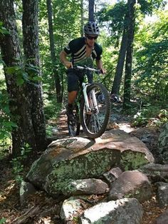 Mountain Biking in Chattanooga, best trails by singletracks.com