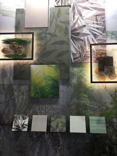 Becoming One With Nature Storyboard at Heimtextil Frankfurt 2017