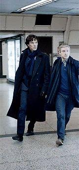 stephenstrvnge:   Sherlock's full body shots in... - Elementary, my dear Watson.