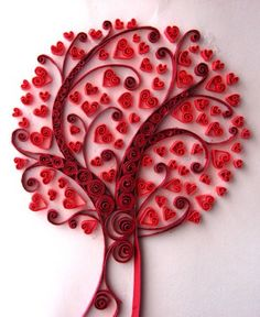 Quilling tree