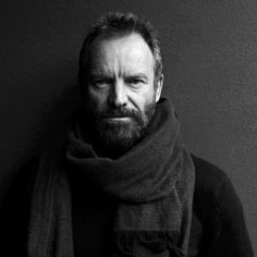 Gordon Matthew Thomas Summer, known by the stage name Sting (1951), English musician, singer-songwriter, multi-instrumentalist, activist, actor and philanthropist. Photo by Bruno Charoy