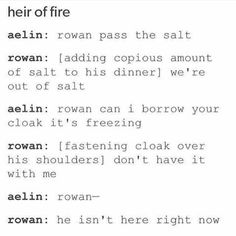 Yep. Heir of Fire in a nutshell