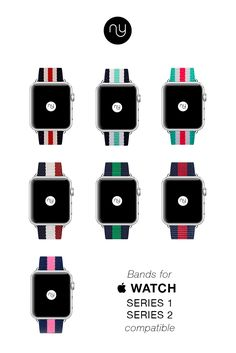 Shop for custom Apple Watch bands and replacement straps at Nyloon. Best third party straps for your most personal device. Gold Apple Watch, Apple Watch Iphone, Apple Watch Faces, New Iphone, Iphone Stand, Nato Strap, Apple Watch Series 2, Android Smartphone, How To Better Yourself