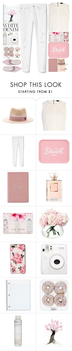 """""""1715"""" by mykatty091 ❤ liked on Polyvore featuring Maison Michel, River Island, Gap, Royce Leather, Chanel, Ted Baker, LSA International, Kate Spade, Korres and Jeffrey Campbell"""