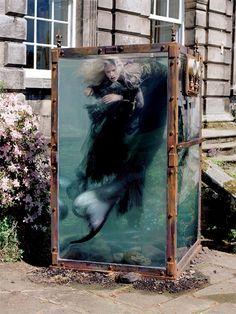 "abigaildonaldson:  Kristen McMenamy in ""Far, Far From Land"" by Tim Walker for W December 2013  ""Far, Far From Land""  ""Where the waters are a..."