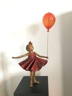 Bronze sculpture / brons made by Babke Moelee Bronze Sculpture, Disney Princess, Painting, Art, Painting Veneer, Resin, Kunst, Art Background, Painting Art