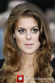 Princess Beatrice of York. She's turned into a lovely woman - what eyes!