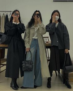 Korean Outfits, Mode Outfits, Retro Outfits, Cute Casual Outfits, Fashion Outfits, Womens Fashion, Looks Street Style, Looks Style, My Style