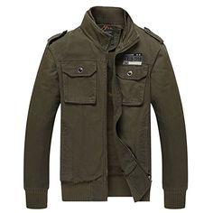 H.T.Niao Jacket8201 Men 's Fashion Slim Collar Jackets
