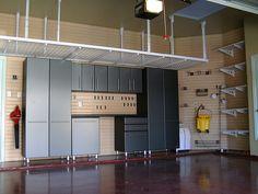 Small garage ceiling storage