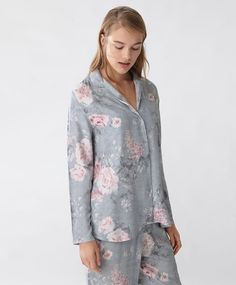 Maglietta cretonne a fiori #Fall2016 #Sleepwear #Oysho